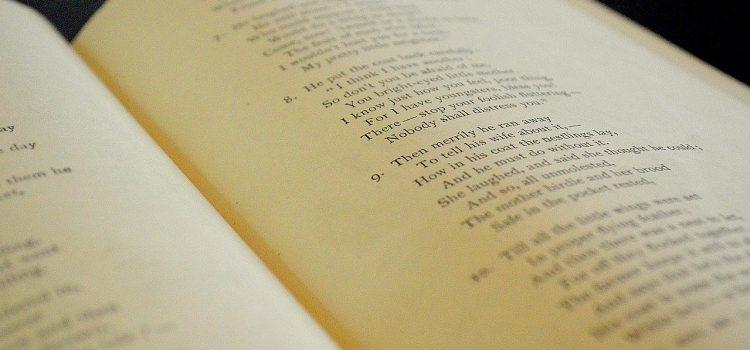 gedicht en poëzie